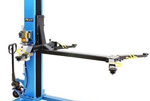 Pro-Lift-Werkzeuge 1-Säulen-Auto-Hebebühne 2,5t mobil KFZ Hebebühne 2500 kg Monolift PKW Säulenbühne portabel elektrohydraulisch